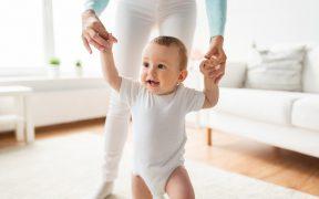 Baby leren lopen